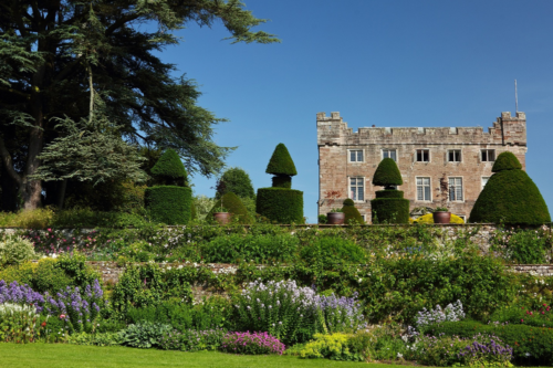Askham Hall and part of the garden