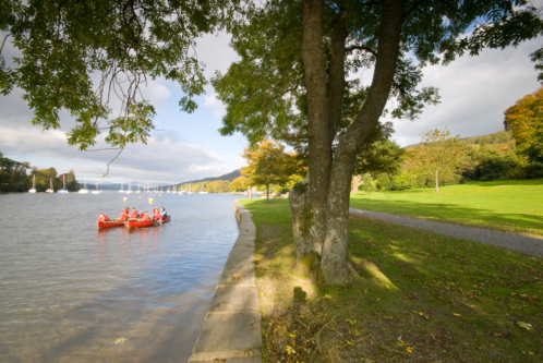 two boats on Windermere