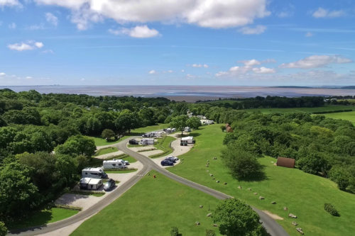We get close to nature on a family stay at a holiday park overlooking Morecambe Bay