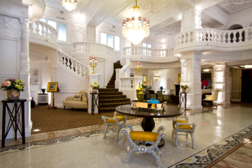 The interior of St Ermin's Hotel