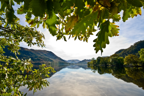 Ullswater on a sunny day