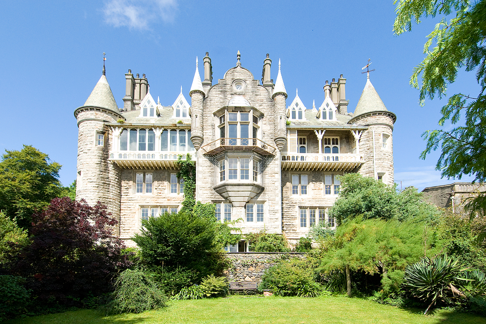 We take our children on a fairy tale family holiday staying at a castle in Anglesey, Wales