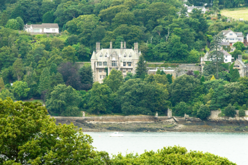 Chateau Rhianfa on the Menai Strait