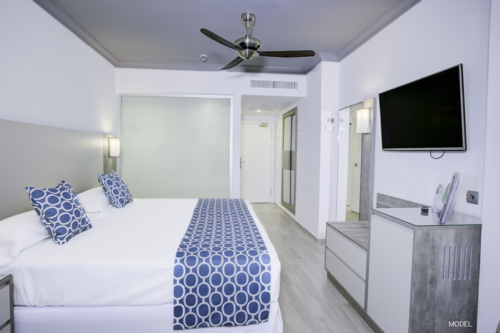 Refurbished room at Club Hotel Riu Oliva Beach