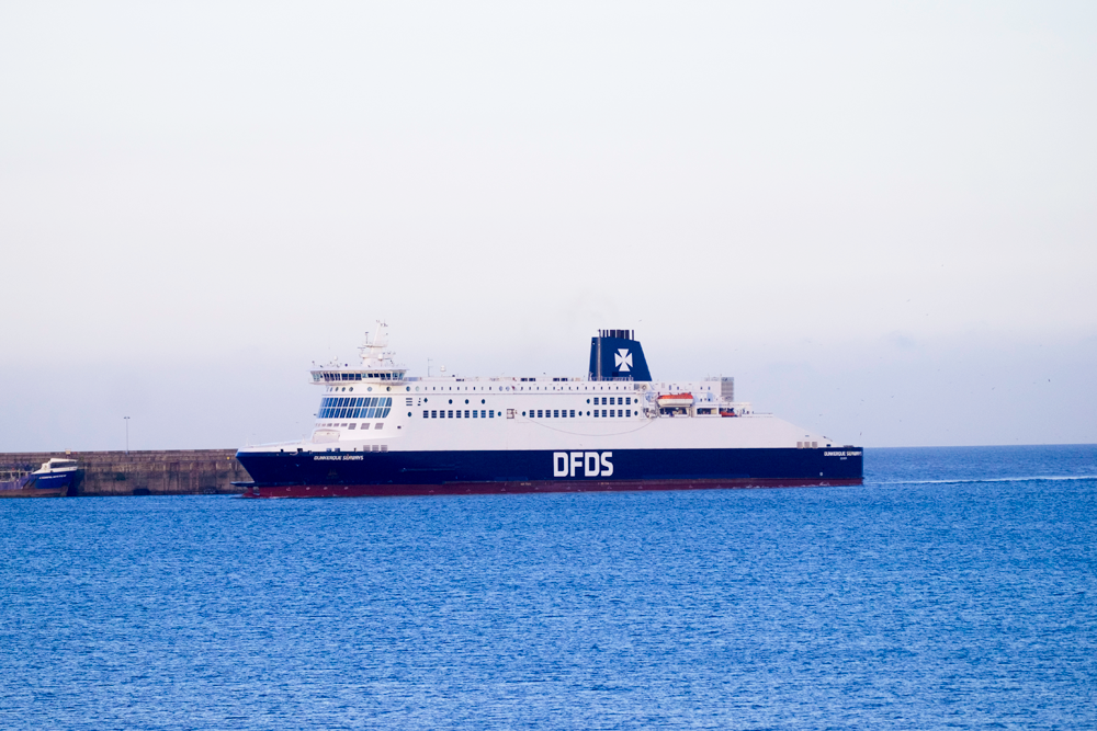 We take our children on a DFDS Ferry across the English Channel – read our review here