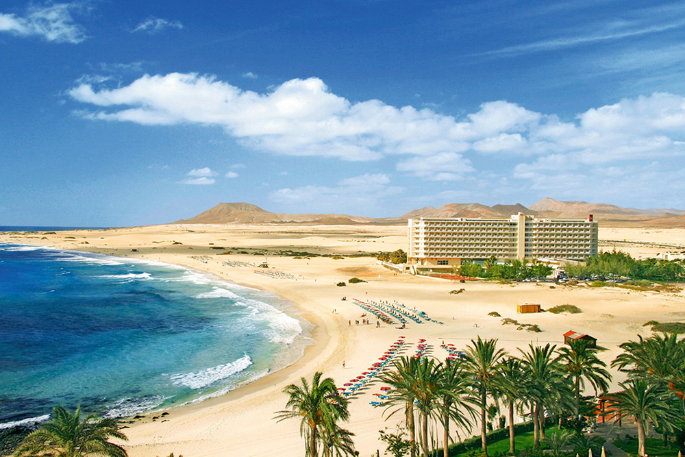 Fuerteventura's Corralejo beach is full of surprises on a family holiday to the Canary Islands