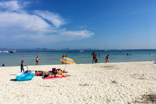 Alcudia beach in Mallorca/Majorca