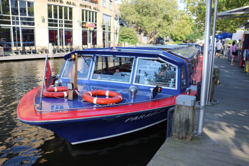 The Blue Boat Company in Amsterdam