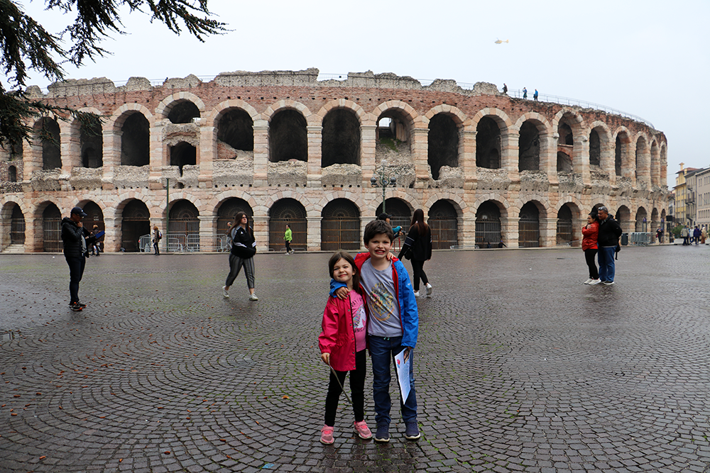 What to do with children in Verona