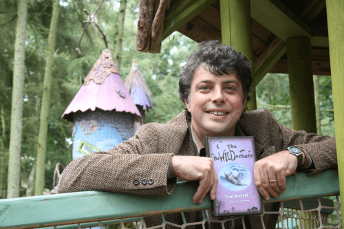 BeWILDerwood author and creator Tom Blofeld at BeWILDerwood Cheshire