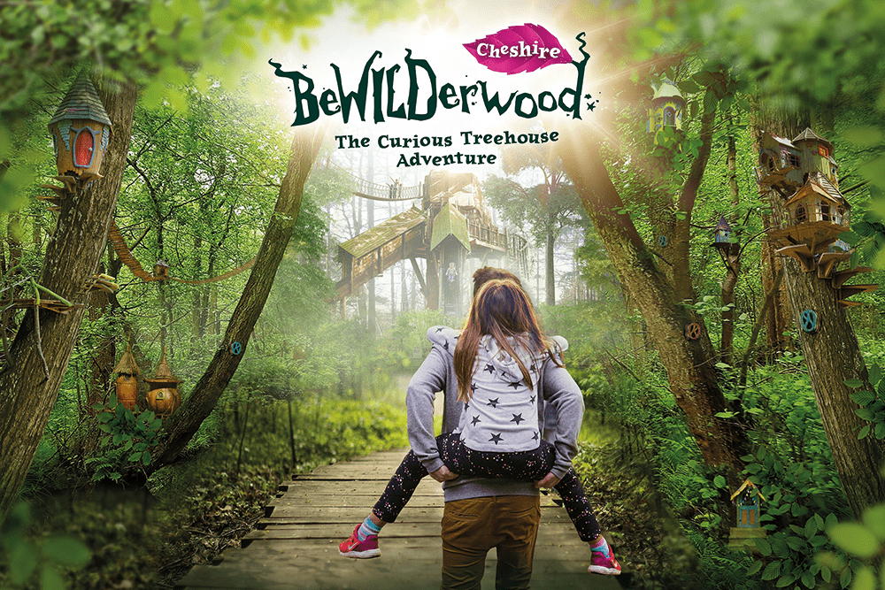 New family attraction – magical woodland adventure park BeWILDerwood to open in Cheshire