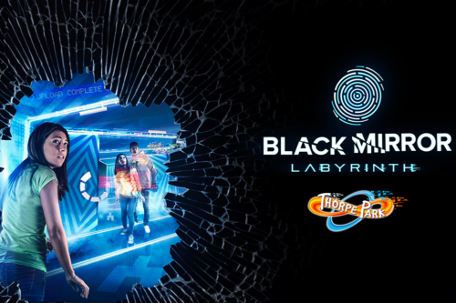 Black Mirror Labyrinth ride experience at Thorpe Park theme park