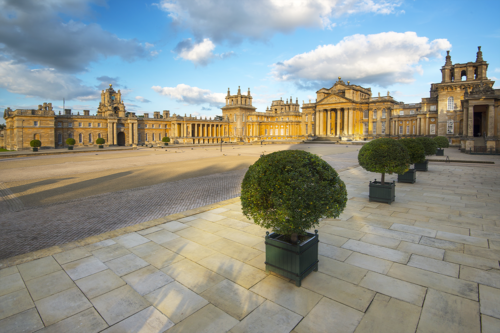 The Great Courtyard at Blenheim Palace
