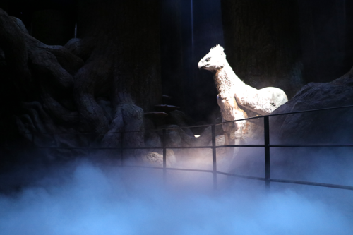 Buckbeak in the Forbidden Forest at the Harry Potter Studio Tour in London