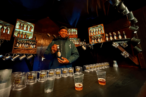 Buy a butter beer at Harry Potter: A Forest Experience