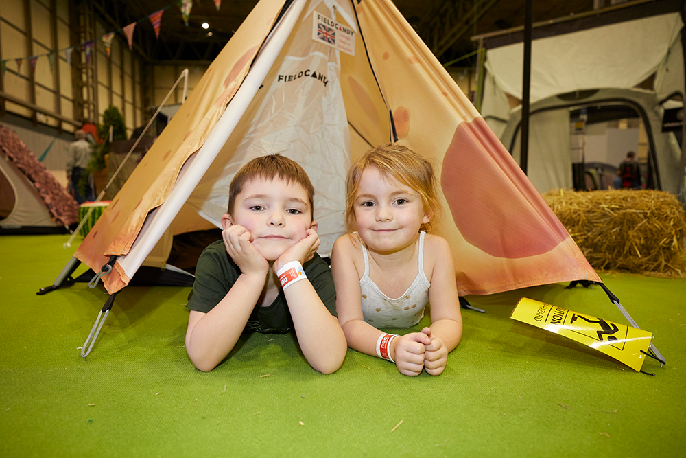 Competition – win family tickets to the Caravan, Camping and Motorhome Show 2020