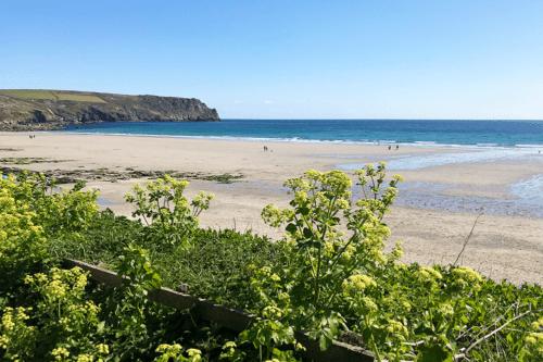 Carne Beach in Cornwall