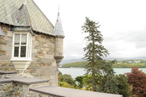 Gate Lodge has amazing views