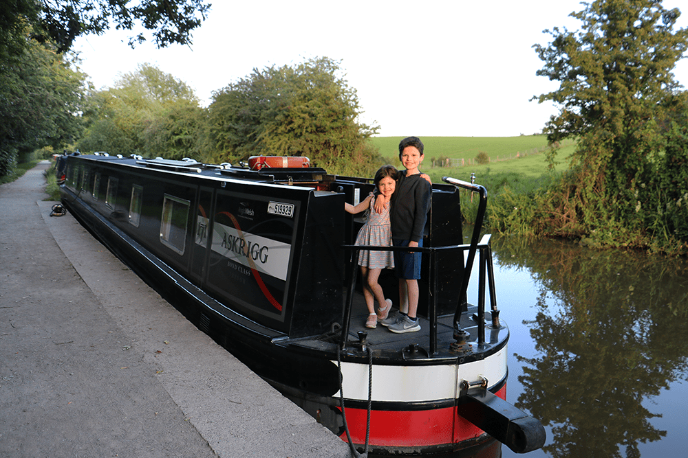 Canal boat family holiday review – we take our children on a 67-foot narrowboat