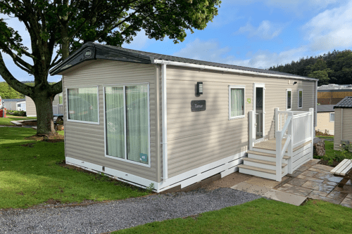 Our static Caravan at Coftons Holidays