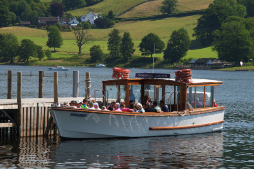 A boat on Coniston Water