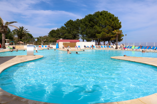 The swimming pool at Marina d'Erba Rossa