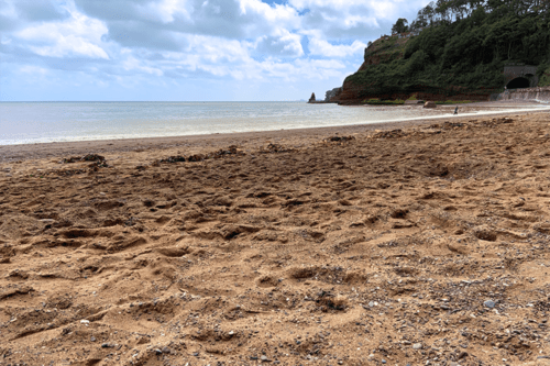 Coryton Cove beach, Dawlish, Devon