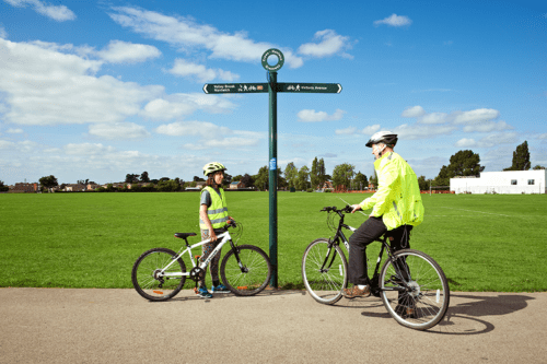 Cycling Connect 2 Crewe to Nantwich Greenway