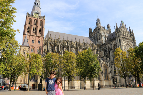 The cathedral city of Den Bosch