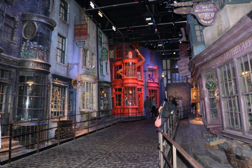 Diagon Alley at the Harry Potter Studios in London