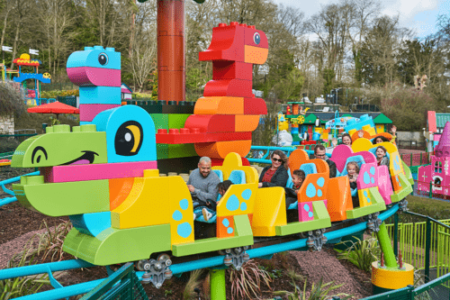 LEGOLAND Windsor launches the world's first DUPLO roller coaster for young children