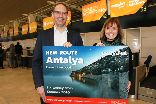 EasyJet announces new route from Liverpool to Turkey