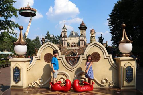 Children at Efteling Theme Park
