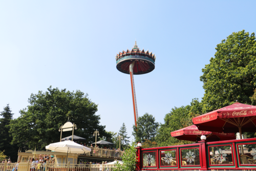 The pagoda at Efteling Theme Park in the Netherlands/Holland