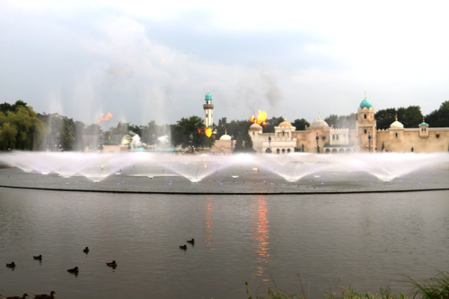 Aquanura water show at Efteling