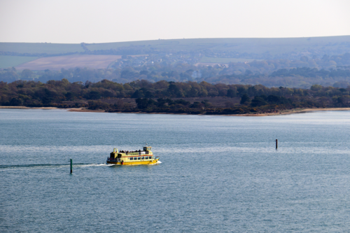 The ferry to Brownsea island