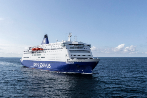 DFDS ferry/mini-cruise from Newcastle to Amsterdam, crossing the North Sea