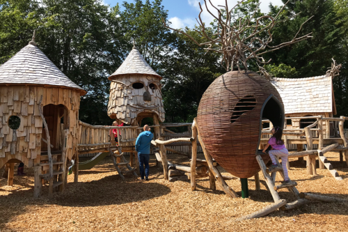 The play area at the Forbidden Corner