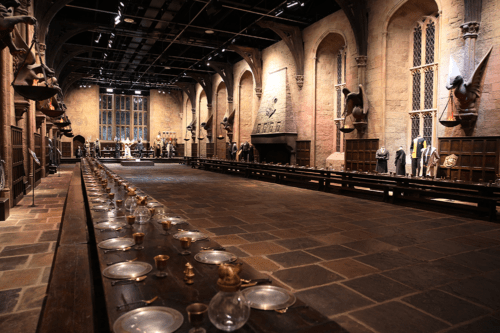 The Great Hall in Harry Potter