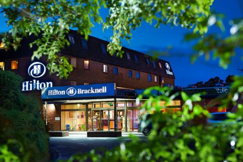 Hilton Bracknell Hotel exterior