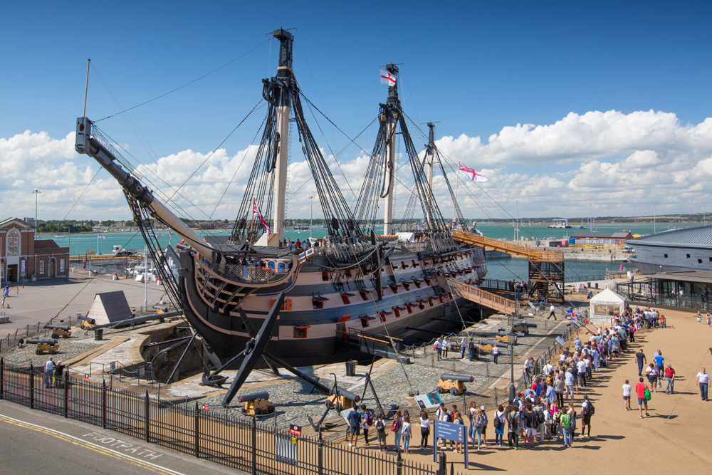 Portsmouth – we take our children back in time to explore the city's naval history on a family holiday to the south coast of England
