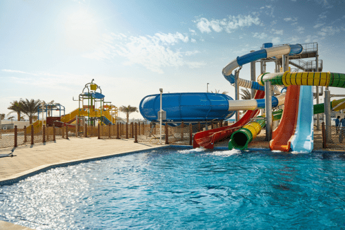 Splash Water Park at Hotel Riu Dubai