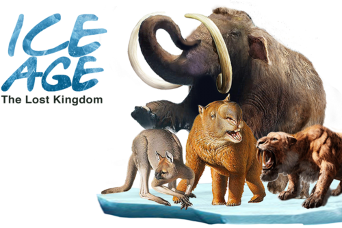 Tickets on sale for new Ice Age outdoor animatronics show