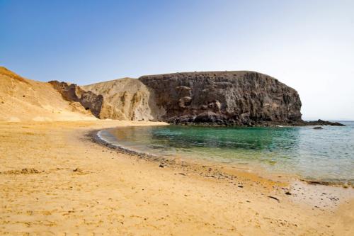 The beach at Playa del Papagayo