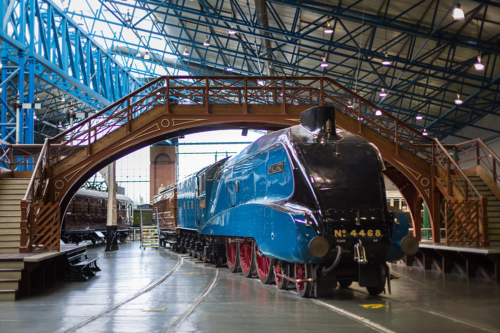 Mallard at the National Railway Museum
