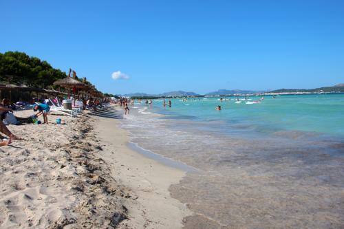 Muro beach near Alcudia, Mallorca