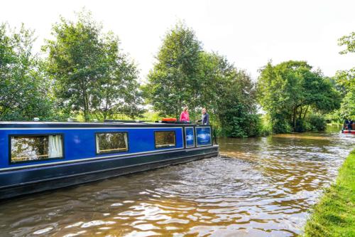 Llangollen Canal in Shropshire