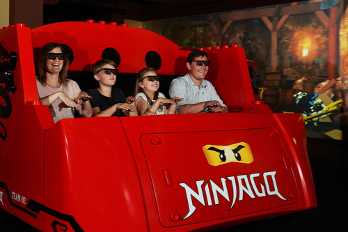 The Ninjago Ride