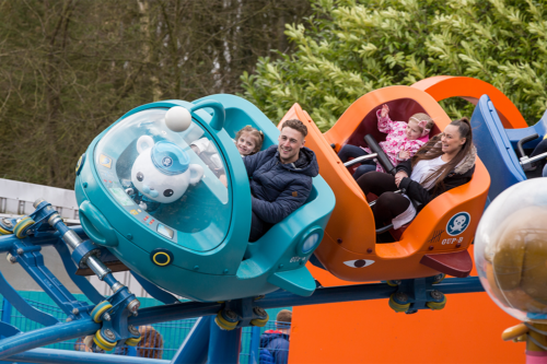 The Octonauts ride at Alton Towers