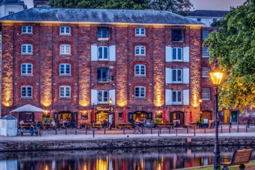 On the Waterfront pizza restaurant in Exeter